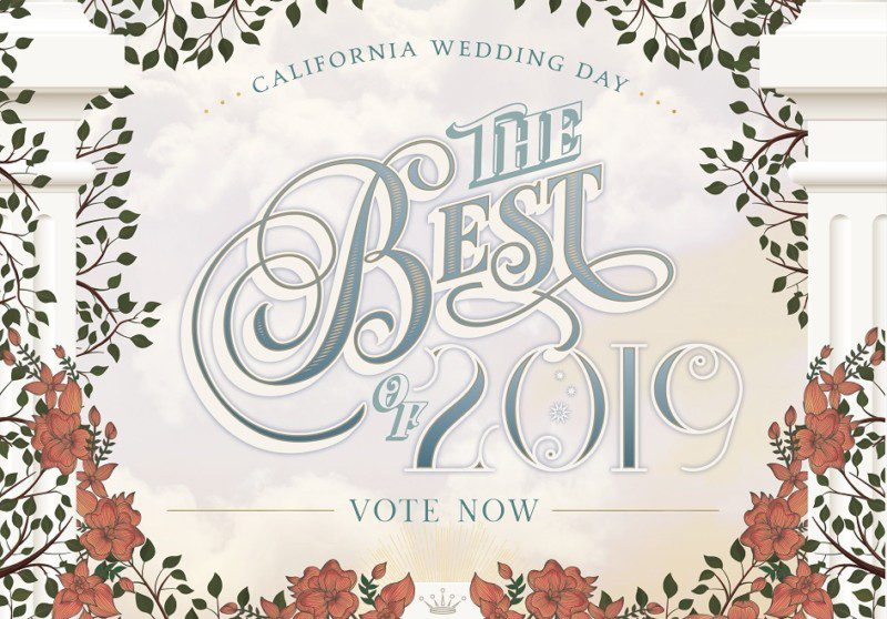 10 Rayce PR clients nominated for California Wedding Day's Best of 2019 awards