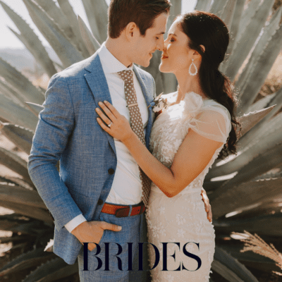 Desert-Inspired Napa Valley Wedding Featured on BRIDES