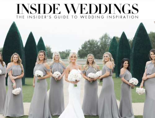 Sophisticated Soiree Featured on Inside Weddings
