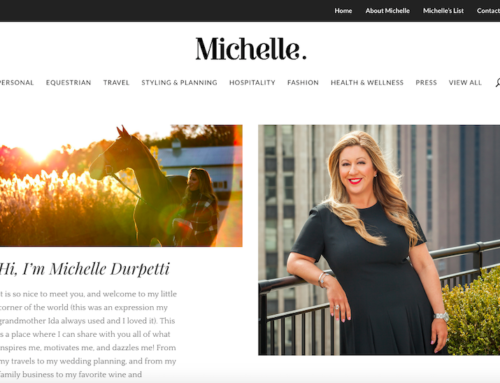 Michelle Durpetti Launches New Personal Blog