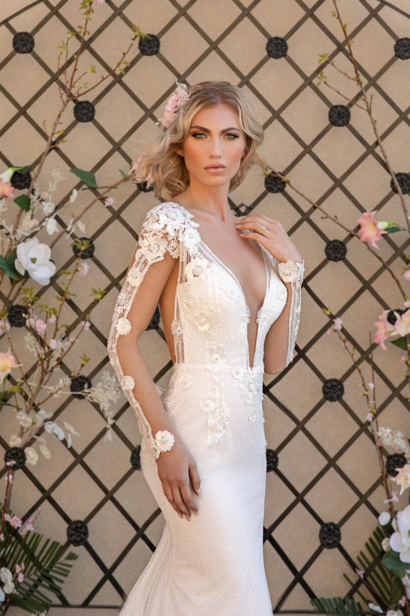 royal blossom collection, naama and anat, wedding gown, wedding dress, haute couture,